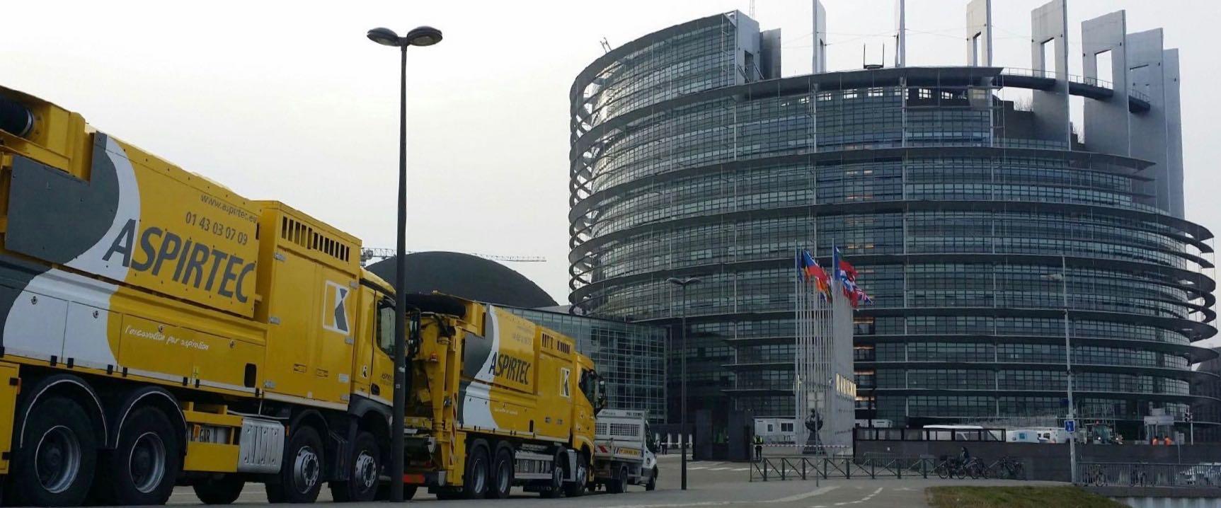 ASPIRTEC Ile-de-France et Paris : camions aspirateurs aspiratrices excavatrices terrassement pour tous chantiers